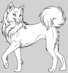 Lineart by Cleopata 003 by free-lineart