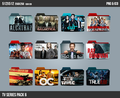TV Series Folder ICON Pack 6 by kasbandi