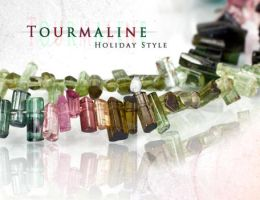 Tourmaline - Holiday by BeadsofCambay