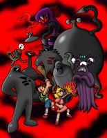 Earthbound - OtherworldlyFoes by KernaaliTanuli