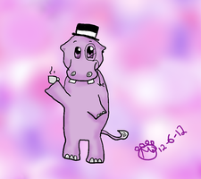 Fancy Hippo by maxst5011