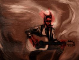 Robert Johnson by jugodenaranjo
