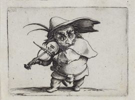 Callot--The-violin-player-from-the-series--Gob by seminolles