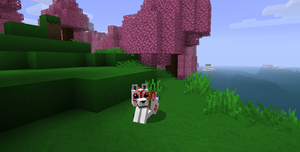 Minecraft Amaterasu by BrokenxXheartxXWolf