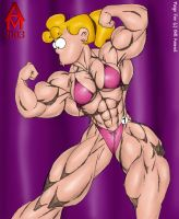 Paige Muscle 2 by AlphaCentaurian