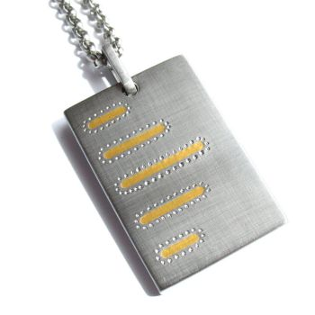 Gold Bars Pendant by Spexton