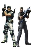 Resident Evil Zombie Killers by redfield37