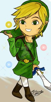 Link and the Fairies by linkfreak131