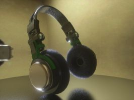 Headphones by jele67