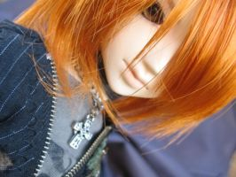 Orange and Up Close by CheriiKyandi