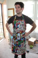 Marvel Avengers Apron by InAnotherCastle