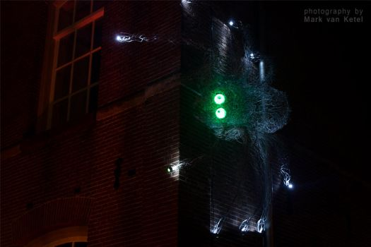 Amsterdam Light Festival XII - Human by blizzard2006