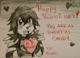 Laughing Jack Valentine's Day Card by sonyasoniclover12