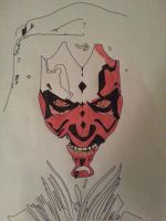 Darth Maul... by ladyjart