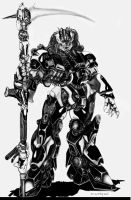 The Naruni Reaper Combat Mecha by ChuckWalton