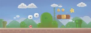 Mario Level by winuy