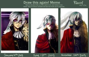 Draw this again meme: Kin 2013 by Renciel