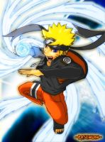 Naruto Flying Rasengan ver 2 by Gevurah