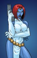 Mystique COLORED 2012 by LucasAckerman