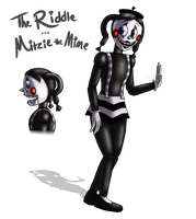 The Riddle a.k.a. Mitzie the Mime by Cephei97
