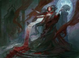 Blood Scrivener by PeteMohrbacher