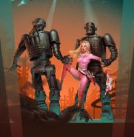 planet of steel by Waldemar-Kazak