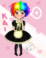 Kai - result of facebook fangirls' conversation by caramelGraphic