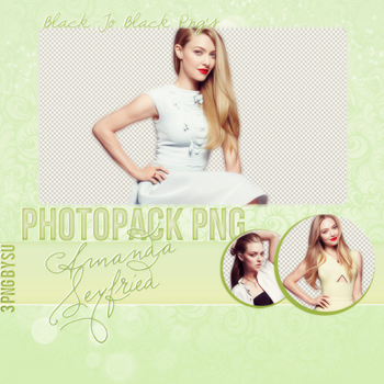 Amanda Seyfried Png Pack by SuBiebs