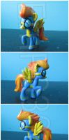 FOR SALE: Spit Fire Custom Blind Bag G4 Pony by EmR0304