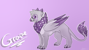 Grape Background by BlueGriffyon