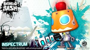 BHB BOTS Inspectrum robot wallpaper by SpicyHorseOfficial