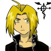 Edward Elric by Yaki-Okami
