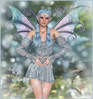 Butterfies n Blue by CaperGirl42
