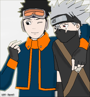 Kakashi, this is my Gift by Sheeva17