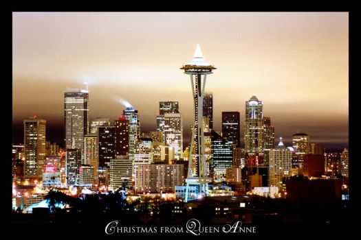 Xmas from Queen Anne by UrbanRural-Photo