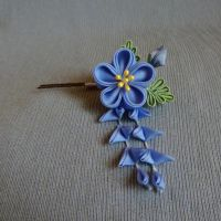 Little Blue Flower by Arleen