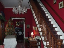Hall at Claiborne House by yourbootsownme