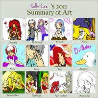 Art summary 2011 by Fluffy-Lee