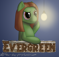 Con Badge - Evergreen by Rhyrs