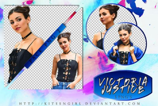 Victoria Justice - PACK PNG 2 by Kiteengirl