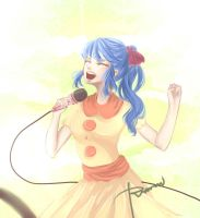 I Love Singing (redraw) by KawaiiNoDesu