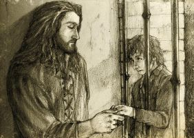 Discovering Mr Baggins - Thorin I by Nazgullow