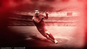 Luis Suarez Feat Alp Graphic by SemihAydogdu