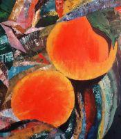 Abstract oil painting by Ariane-S