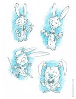 Easter Bunny Concepts 1 by RobbVision