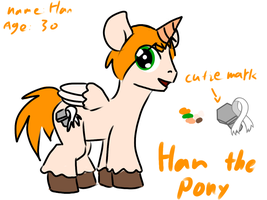Pony Han's ref by MannieWoo