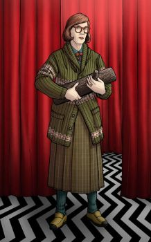 TWIN PEAKS- The Log Lady by PaulHanley