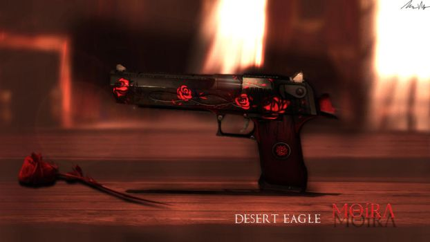 Desert Eagle Moira by Nocluse