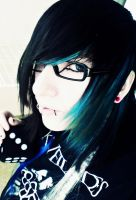 blue and black by anii33