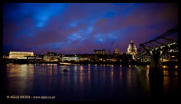 River Thames Widescreen by agijo